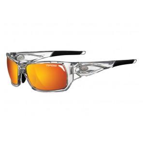 Okulary TIFOSI DURO crystal clear (3szkła Smoke Red 15,4% transmisja światła, Smoke Brt. Blue, Clear) (DWZ)