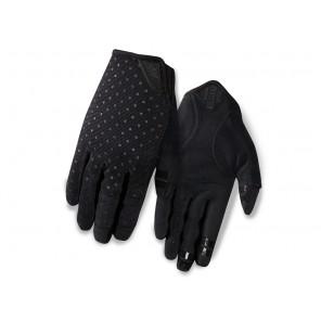 Rękawiczki damskie GIRO LA DND długi palec black dots roz. M (obwód dłoni 170-189 mm / dł. dłoni 161-169 mm) (NEW)