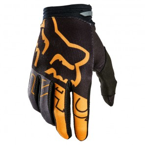 Rękawiczki FOX Junior 180 Skew black/gold