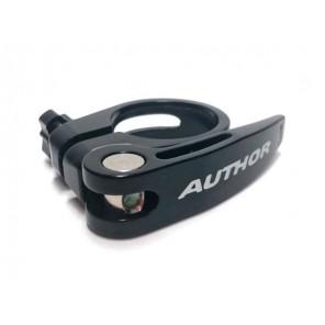 Obejma z zaciskiem mimośr. AUTHOR AQR-C13 śred. 31,8mm czarna