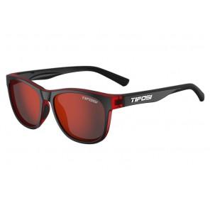 Okulary TIFOSI SWANK crimson/onyx (1szkło Smoke Red 15,4% transmisja światła) (NEW)
