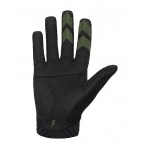 Rękawiczki ROCDAY Evo Race czarny/zielony