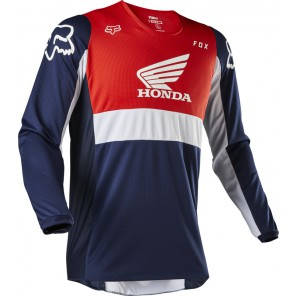 Bluza Fox 180 Honda Navy/red Xxl