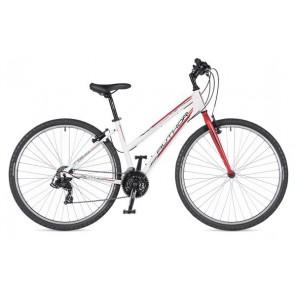 """THEMA 29 19"""" biało/czerwony, rower AUTHOR'19"""