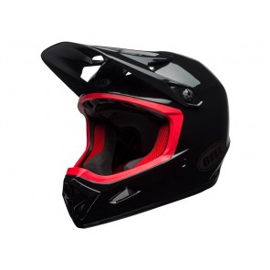 BELL TRANSFER-9 gloss black hibiscus kask