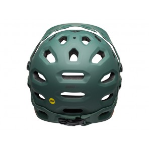 BELL SUPER 3R MIPS matte green orange kask