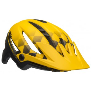 BELL SIXER INTEGRATED MIPS finishline matte yellow black kask