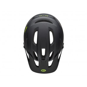 BELL 4FORTY INTEGRATED MIPS cliffhanger matte gloss black green kask-L