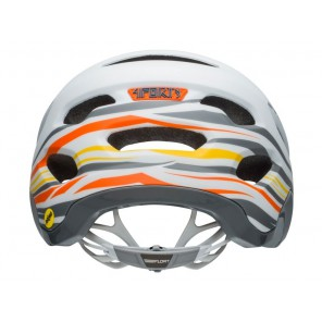 BELL 4FORTY INTEGRATED MIPS rush matte gloss white orange kask