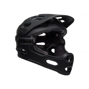 BELL SUPER 3R MIPS matte gloss black gray kask