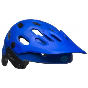 BELL SUPER 3 matte blues kask