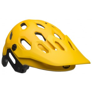 BELL SUPER 3 matte yellow coal kask
