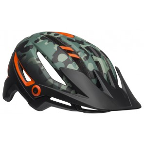 BELL SIXER INTEGRATED MIPS oak matte black green orange kask