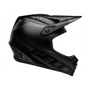BELL FULL-9 FUSION MIPS matte gloss black kask