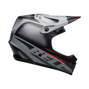 BELL FULL-9 FUSION MIPS matte gloss black gray crimson kask