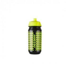 Accent Bidon ZigZac czarno-żółty fluo 500 ml