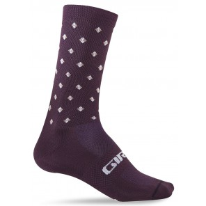 Skarpety GIRO COMP RACER HIGH RISE dusty purple crossfade roz. M (40-42) (NEW)