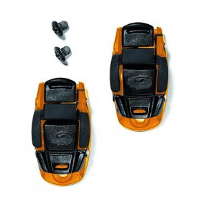 SIDI Klamry CALIPER BUCKLE czarno-pomarańczowe