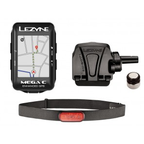 Komputer rowerowy LEZYNE MEGA C GPS HRSC Loaded (NEW)
