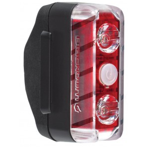 Lampka tylna BLACKBURN DAYBLAZER 65 REAR, 66 lumenów USB czarna (NEW)