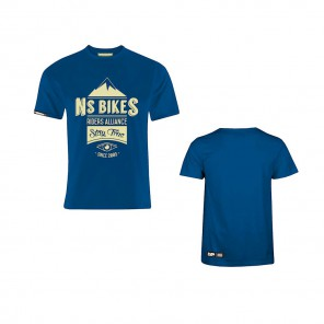 NS Bikes T-shirt NS Riders Alliance Niebieski S