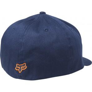 Czapka Z Daszkiem Fox Flex 45 Flexfit Navy/orange S/m