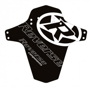 Błotnik Reverse Mudguard logo biały