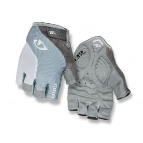 Rękawiczki damskie GIRO STRADA MASSA SG krótki palec titanium grey white roz. L (obwód dłoni 190-210 mm / dł. dłoni 170-177 mm) (NEW)