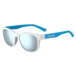 Okulary TIFOSI SWANK frost/powder blue (1szkło Smoke Bright Blue 11,2% transmisja światła) (NEW)
