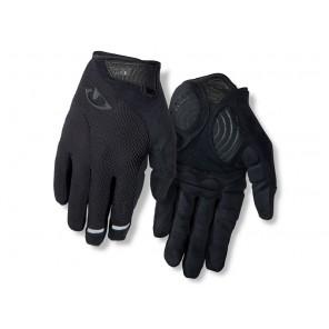 Rękawiczki męskie GIRO STRADE DURE SG LF długi palec black roz. M (obwód dłoni 203-229 mm / dł. dłoni 181-188 mm)