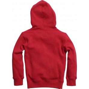 Bluza Fox Junior Z Kapturem Legacy Dark Red Ys