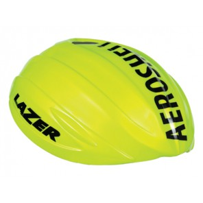 Nakładka na kask LAZER AEROSHELL O2 yellow flash (XL)