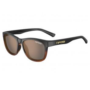 Okulary TIFOSI SWANK brown fade (1szkło Brown 17,1% transmisja światła) (NEW)