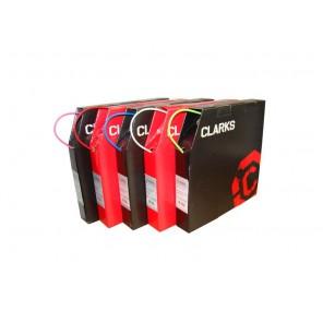 CLARK's SP4 pancerz przerzutki z teflonem 4mm biały