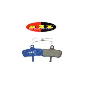 A2Z AZ-295 Avid Code 2007-2010 Blue klocki hamulcowe