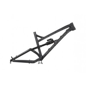Rama Blackbird 27.5 bez dampera, Czarny/Grafit mat, Large