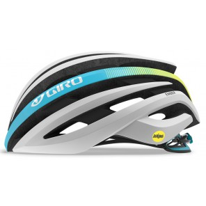 Kask szosowy GIRO EMBER INTEGRATED MIPS matte white heatwave roz. M (55-59 cm) (NEW)