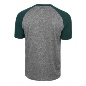 Koszulka ROCDAY Peak szary/zielony
