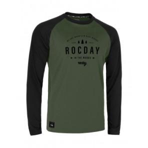 Jersey ROCDAY Patrol czarny/zielony