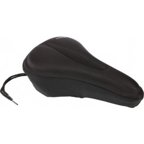 Accent Pokrowiec na siodełko Cover z żelem, czarny