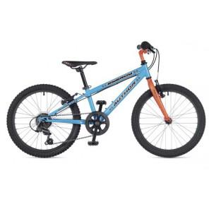 """ENERGY 20 10"""" niebiesko/pomarańczowy(fluo), rower AUTHOR"""