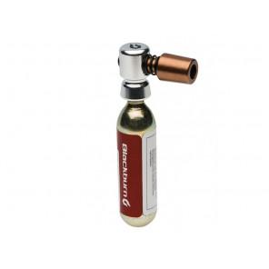 Pompka ręczna BLACKBURN WAYSIDE CO2 + 1x nabój gazowy 16g srebrny (NEW)