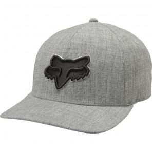 Czapka Z Daszkiem Fox Epicycle Flexfit Heather Grey S/m