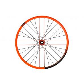 """NS Bikes Koła Enigma Dynamal Lite 27.5"""" Rotary Cassette 135/142x12 i Rotary 15/20 disc Pomarańczowe Fluo"""