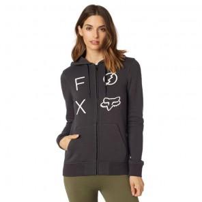 Fox Lady Staged bluza z kapturem na zamek
