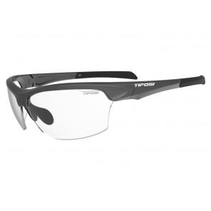 Okulary TIFOSI INTENSE matte gunmetal (1szkło Clear 95,6% transmisja światła) (NEW)