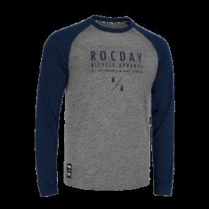 Bluza MANUAL SANITIZED® szary melanż - granatowy XL