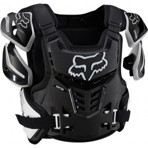 Buzer Fox Adult Raptor Vest Black/white S/m