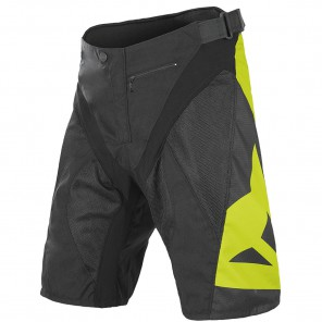 HUCKER PANTS SHORT - BLACK/YELLOW L