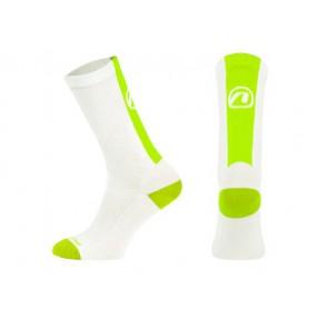 Skarpetki ACCENT Stripe Long biały/zielony